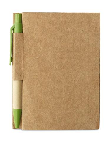 Notebook écologique Publicitaire