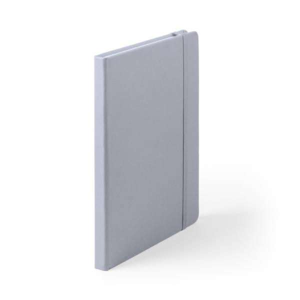 Bloc-notes Cilux en cuir PU gris