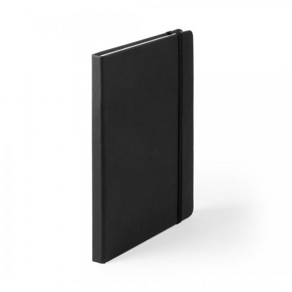 Bloc-notes Cilux en cuir PU noir