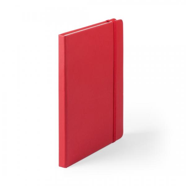 Bloc-notes Cilux en cuir PU rouge