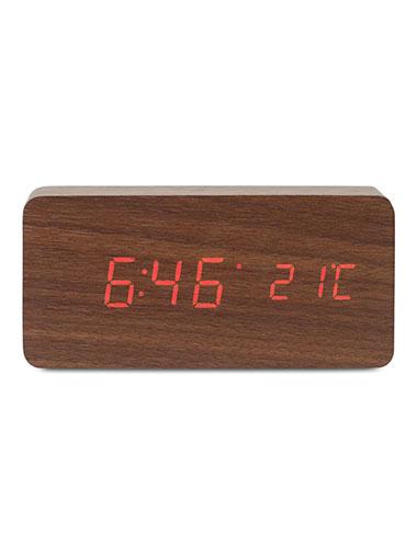 Station météo en bois